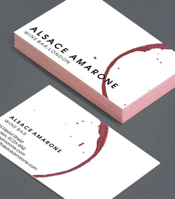 Alsace Art Institute Business Card Design Luxury