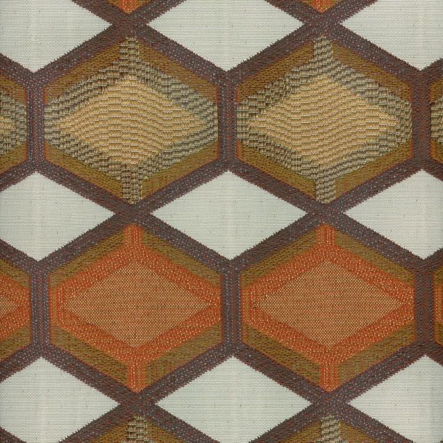 My Fabric Connection - Magnolia Fabric Mckenna Mango, $27.12 (http://www.myfabricconnection.com/magnolia-fabric-mckenna-mango/)