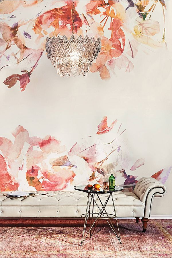 Friday favorites vintage inspired and anthropologie for Anthropologie wall mural