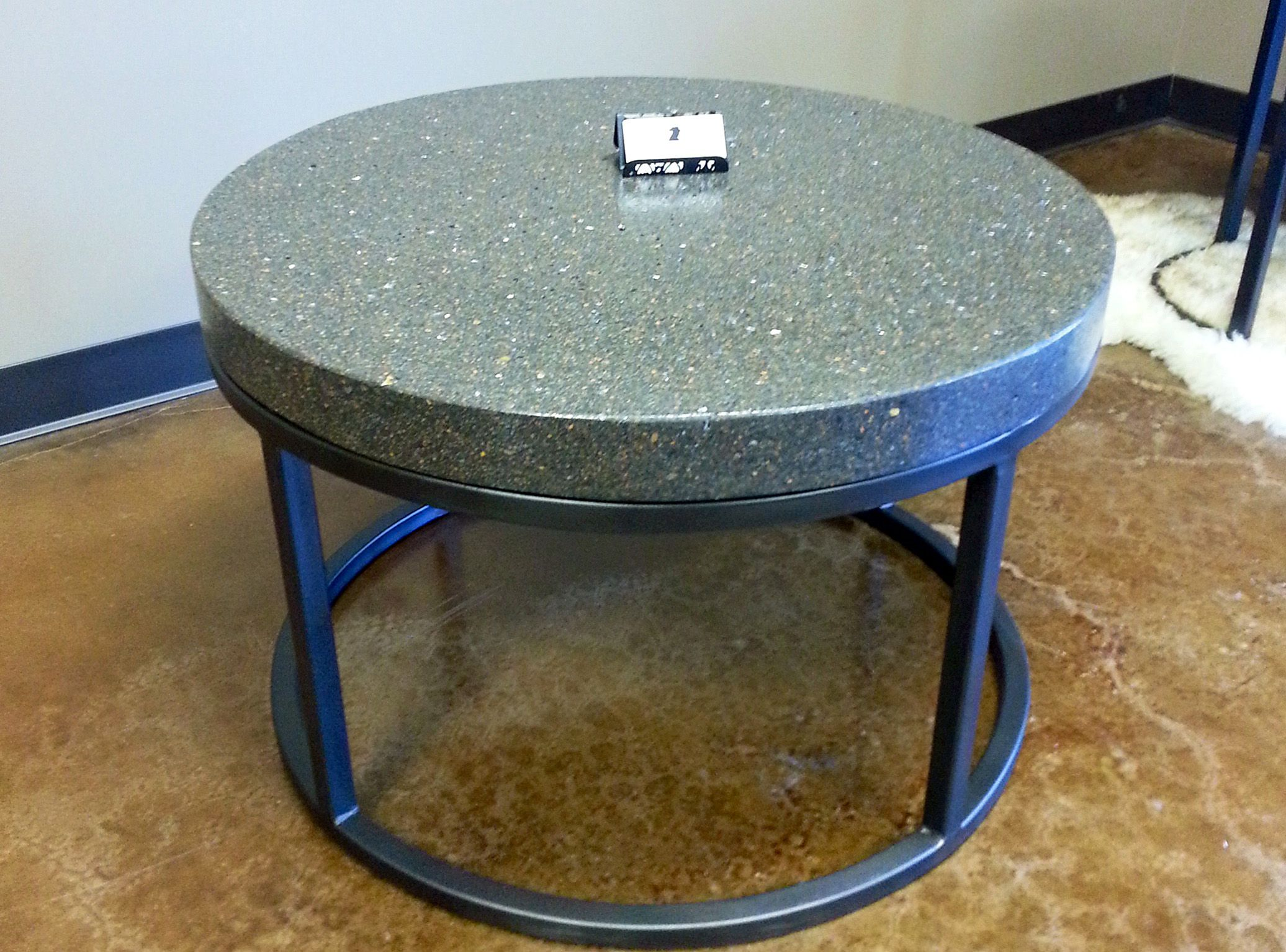 Small 30 Quot Round Coffee Table In Charcoal From Our Ben