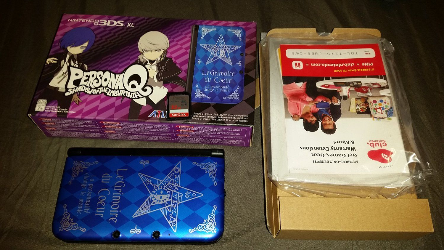 Amazon com: Nintendo 3DS XL Persona Q Edition: Video Games