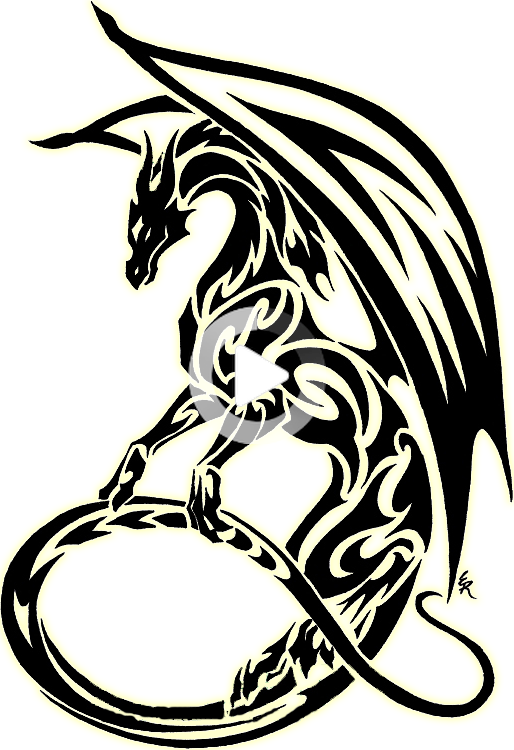 View And Download Hd Clipart Black And White Dragon Clipart Best Symbol Tribal Dragon Tat In 2020 Tribal Dragon Tattoos Dragon Tattoo Stencil Dragon Tatt In 2020 Tribal Dragon