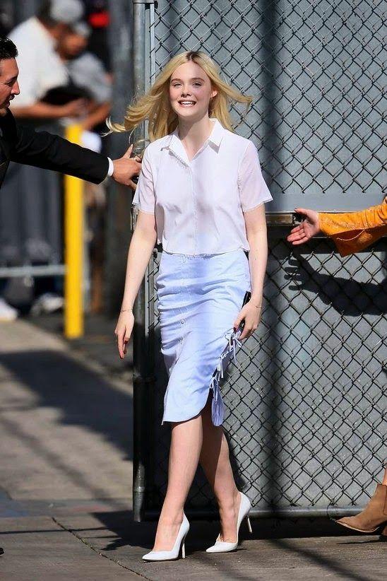 GOSSIP OVER THE WORLD: Fashion Celebrities ----- A La ...... Elle Fanning...