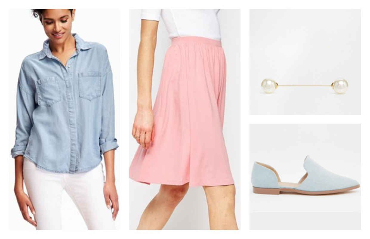 Outfits Under $100: Spring Midi Skirts - College Fashion