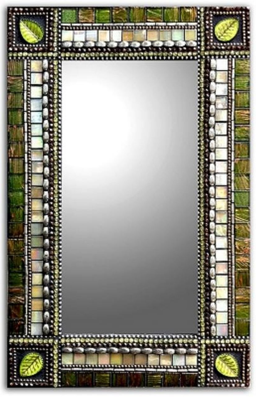 Rectangle Mosaic Mirror in 2020 (With images) | Mosaic mirror