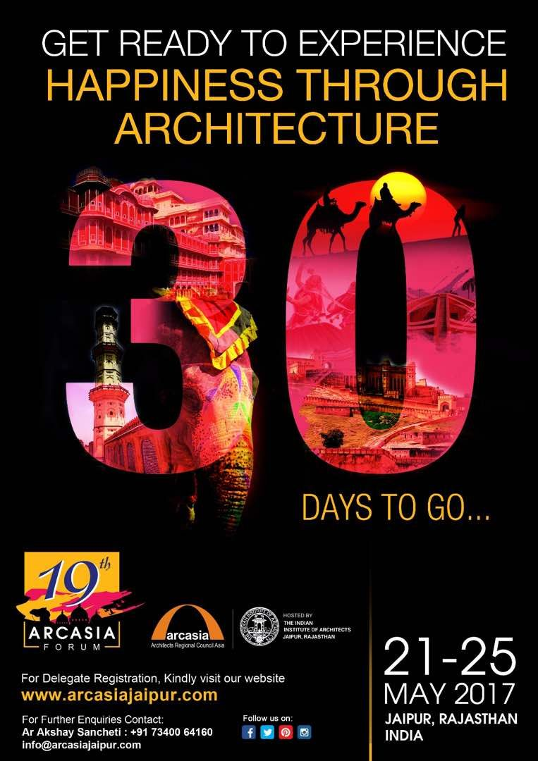 Time To Create An Unforgettable Experience At The 19th Arcasia Forum. # Architecture #design