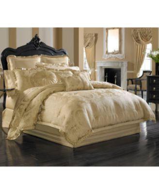 J Queen New York Napoleon Gold King 4 Pc Comforter Set Bedding Comforter Sets Luxury Comforter Sets Gold Comforter
