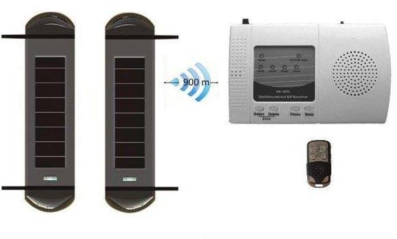 Break Beam System Solar Powered Wireless Security System Wireless Security System Home Security Systems Home Security