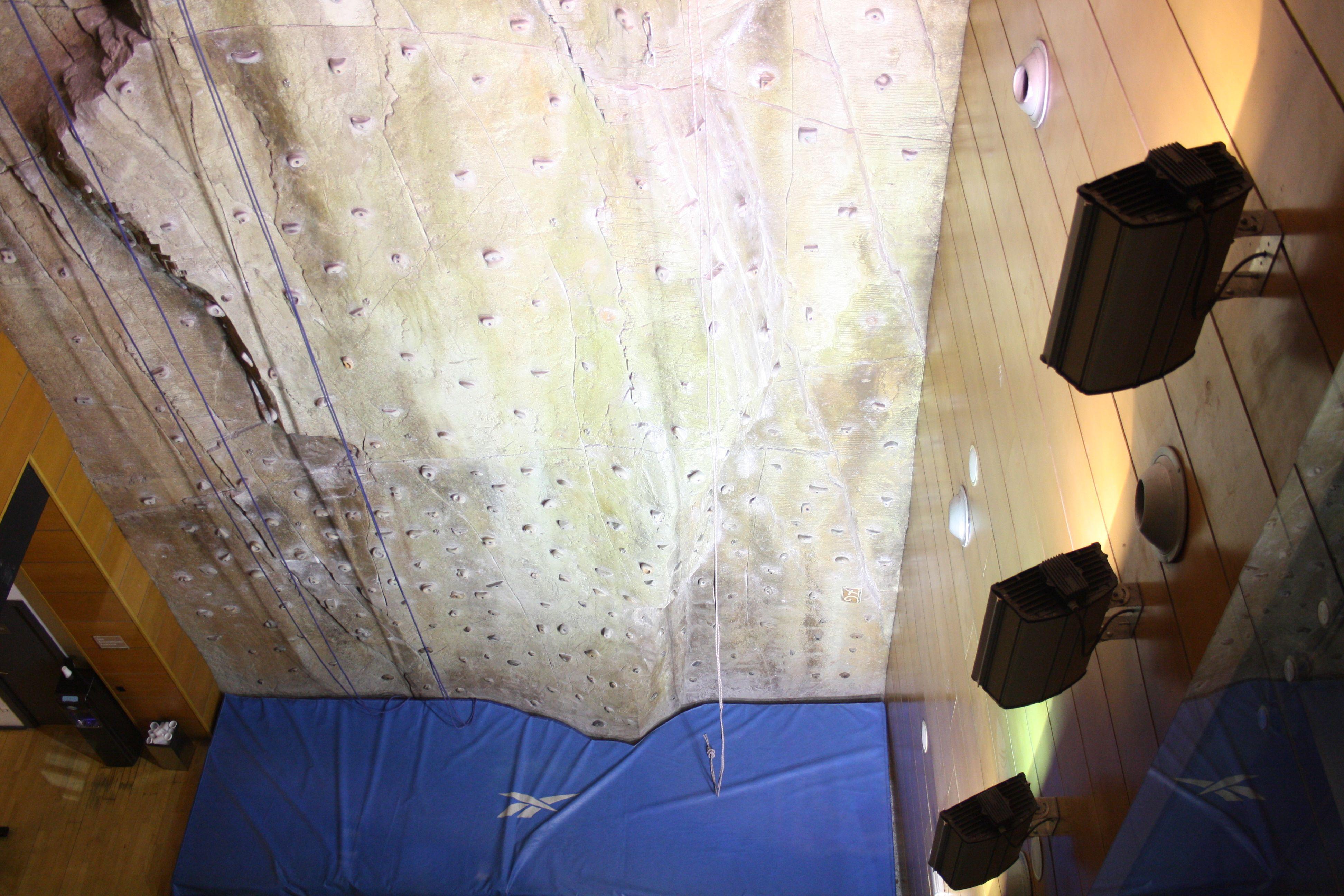 rocdromo del gimnasio reebok sports club de abcserrano