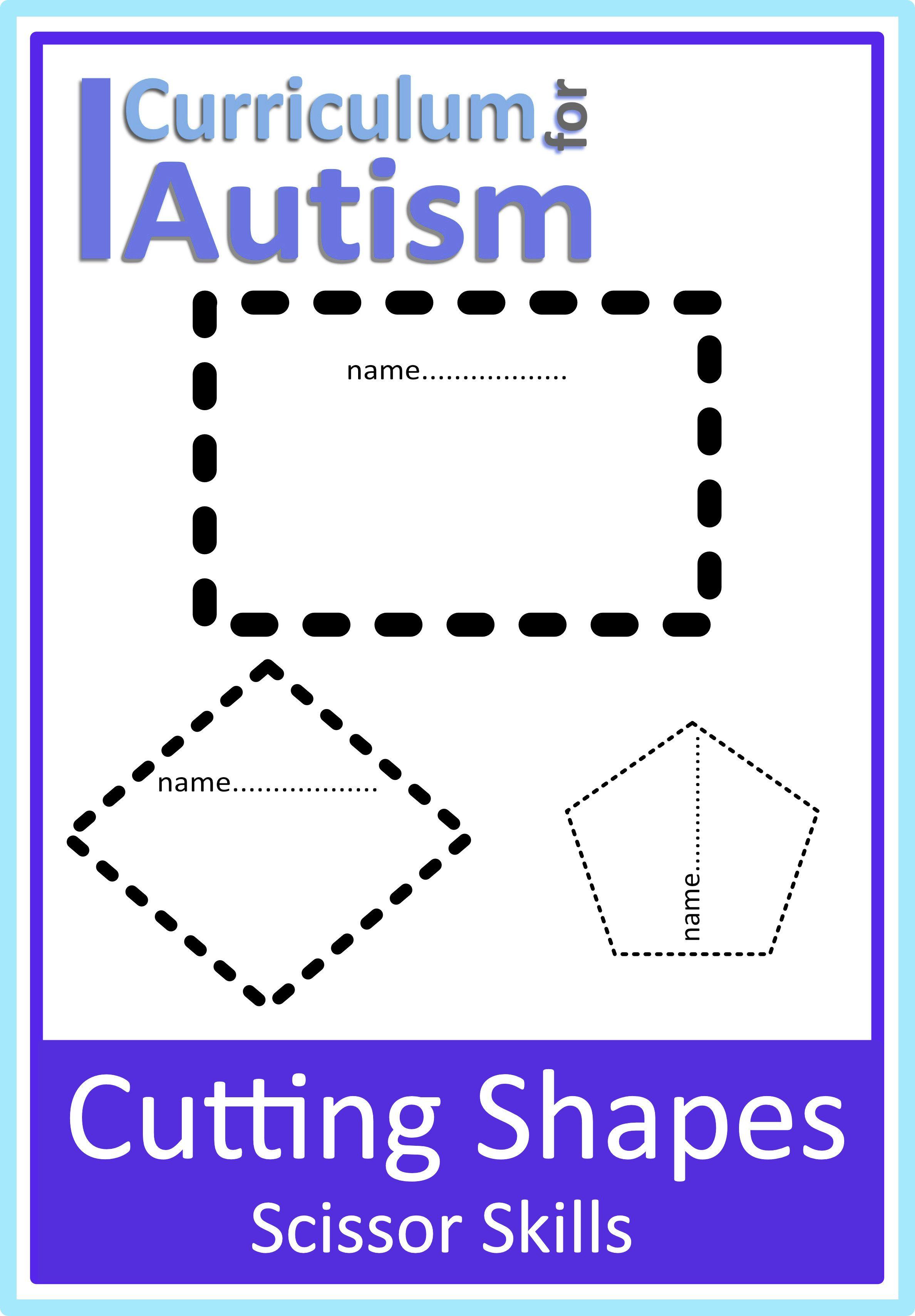 Pin On Autism Pencil Amp Scissor Skills