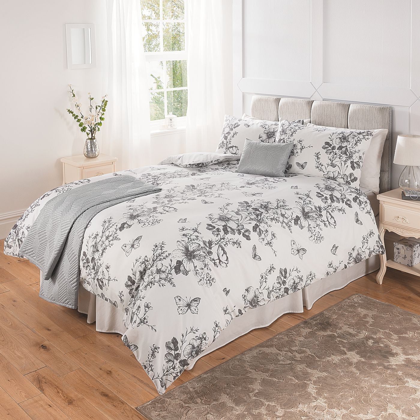 George Home Butterfly Trail Duvet Range Bedding