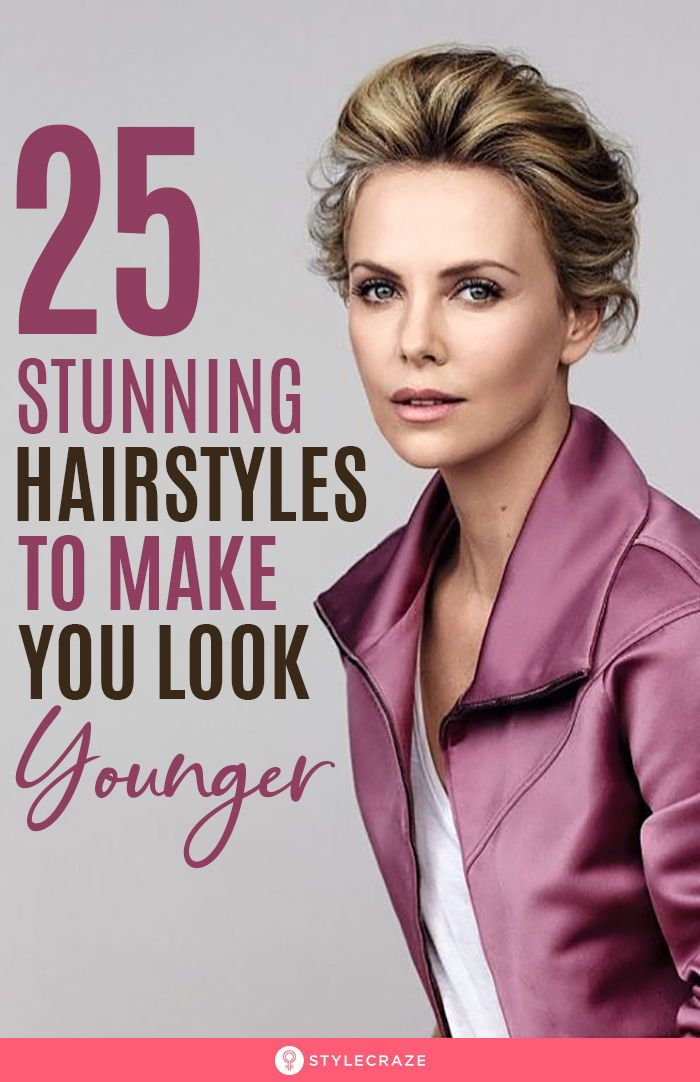 25 Stunning Hairstyles To Make You Look Youthful