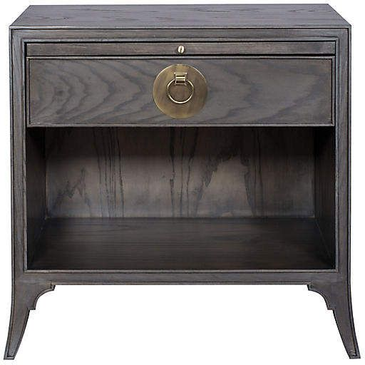 One Kings Lane Riffa Nightstand - Gray Products Pinterest - Lane Bedroom Furniture