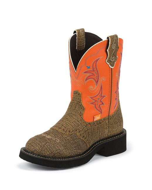 Women's Diamond Cut Pull Strap Boot - Safari Brown County outfitters