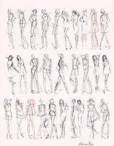 Adobe Illustrator Flat Fashion Sketch Templates - My 36