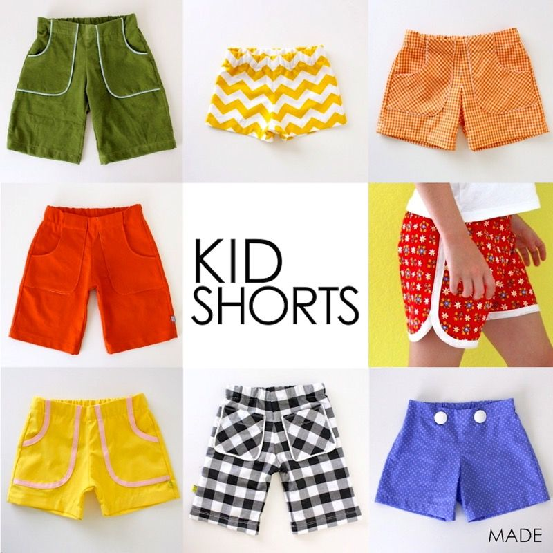 Kid Shorts | Learn How to Sew | Pinterest | Sewing, Kids shorts and ...