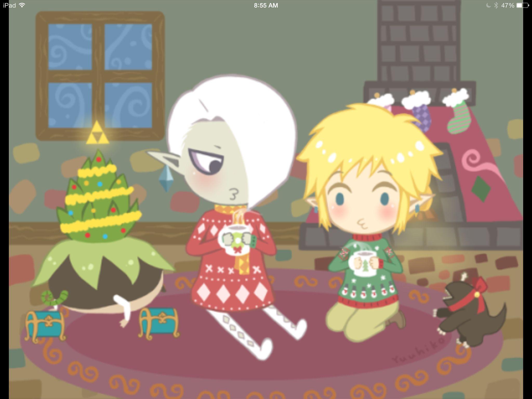 Happy Nintendo Holidays! | Art, Wallpapers, Pixel Art, & More ...