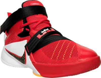 huge selection of b702e 5f061 Boys' Grade School Nike Lebron Soldier 9 Basketball Shoes ...