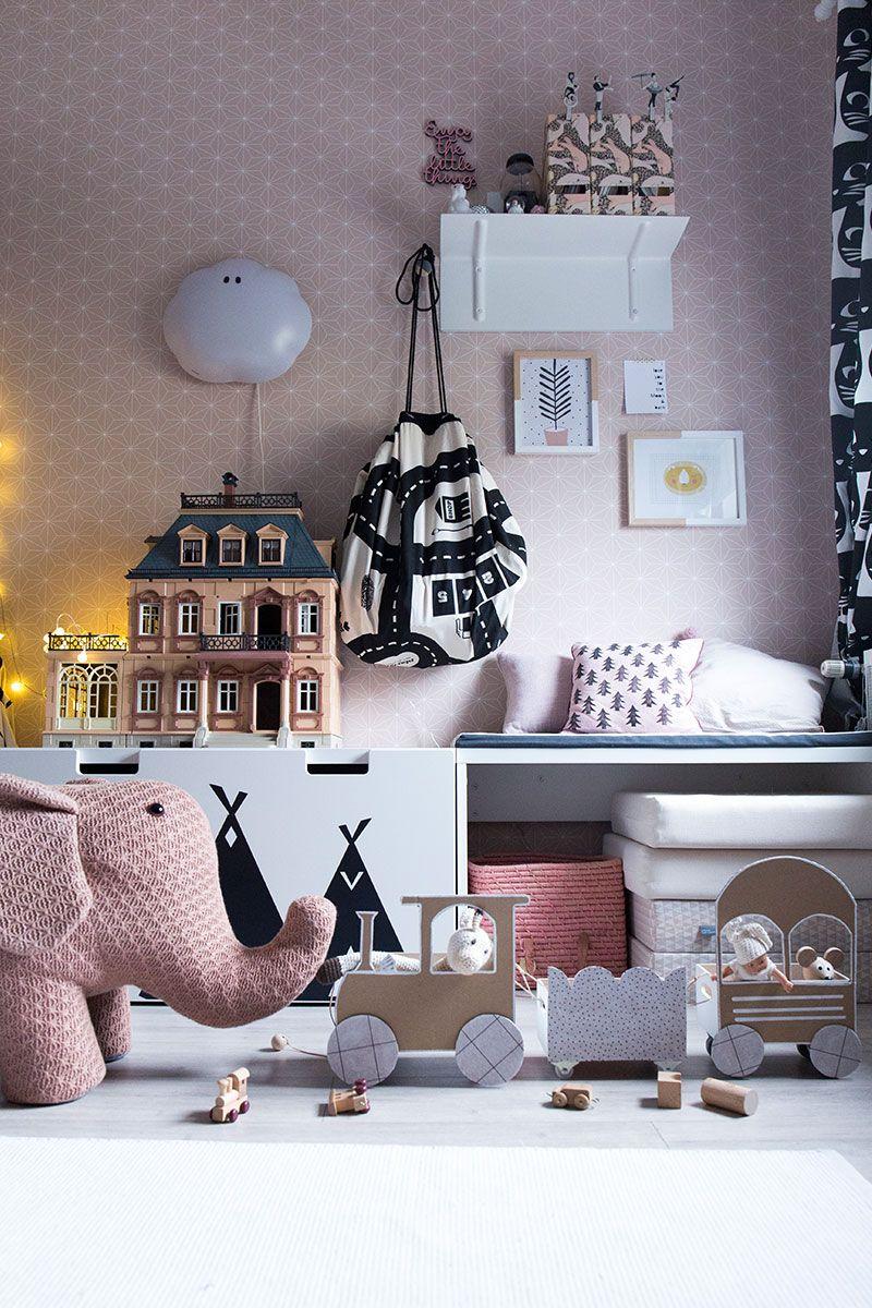 Fantastisch Mädchenzimmer In Rosa   Inspiration Und DIY Idee Für Ordnung Im Kinderzimmer.  #rosa #