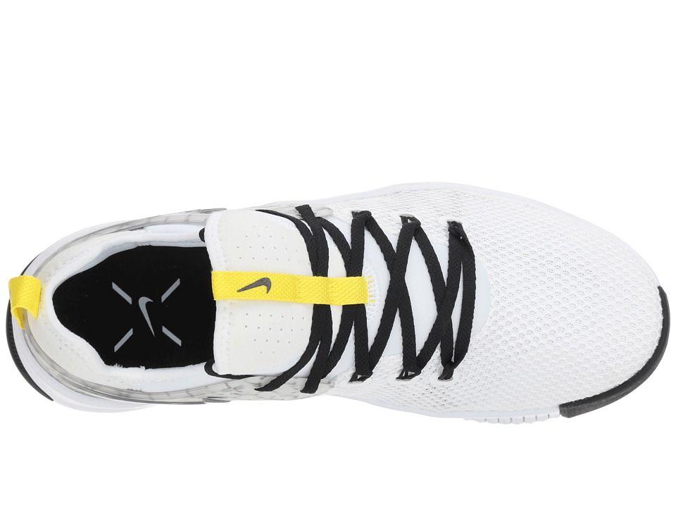 b6fd216ab0f7 Nike Metcon Free JDQ Men s Cross Training Shoes White Black Dynamic Yellow