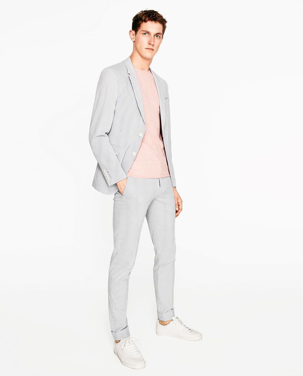 a6e293cf31 Men's Slim Fit Suits | ZARA United States | Suiting - Smart Styling ...