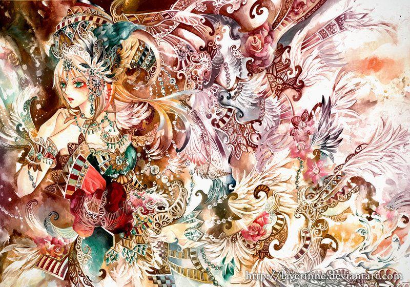 Artist : laverinne | Found on deviantART, Laverinne create