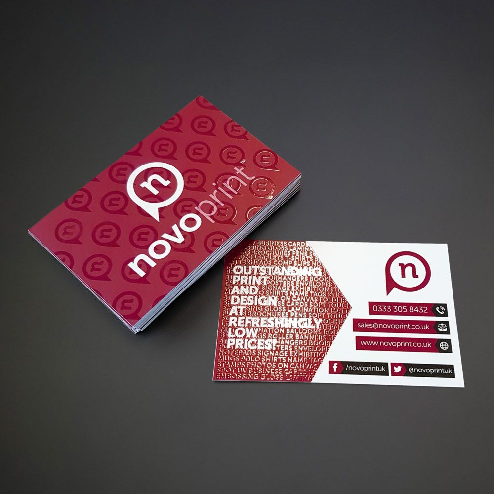 Novo Print Offers Business Cards Stationary Items Flyers Brochures And Other Varieties Of Products Ord Spot Uv Business Cards Business Cards Online Spot Uv