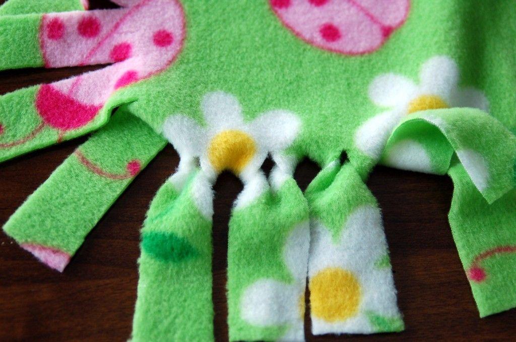 Fringed Fleece Blankets Fleece Blanket Edging Fleece