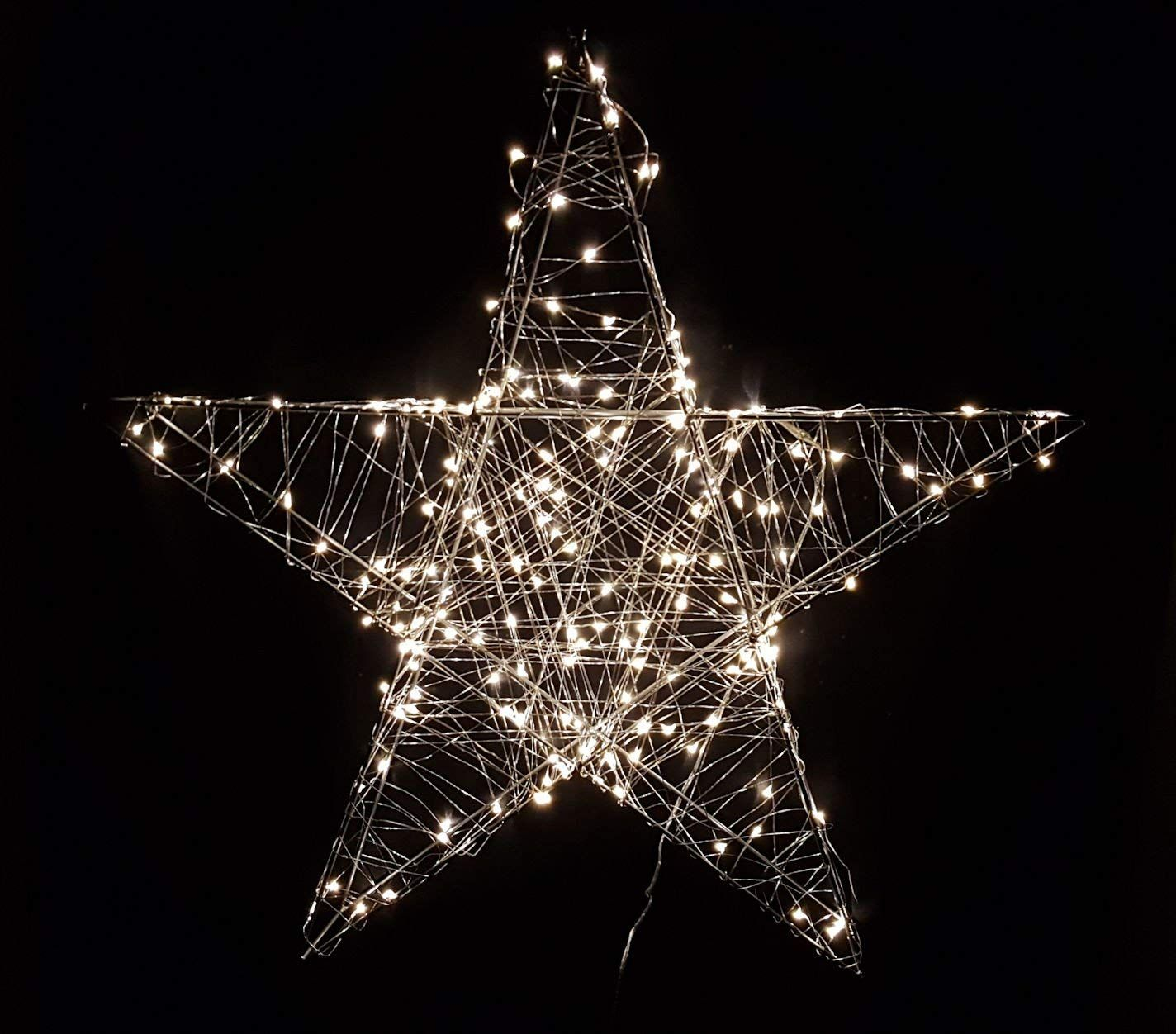 Weihnachtsbeleuchtung Fenster Günstig.Weihnachtsbeleuchtung Innen Weihnachtsstern Beleuchtet ø40cm
