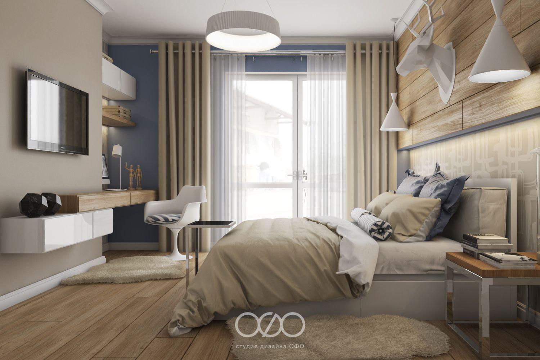 Дизайн спальни с рабочим местом (30 фото) — смотрите ...