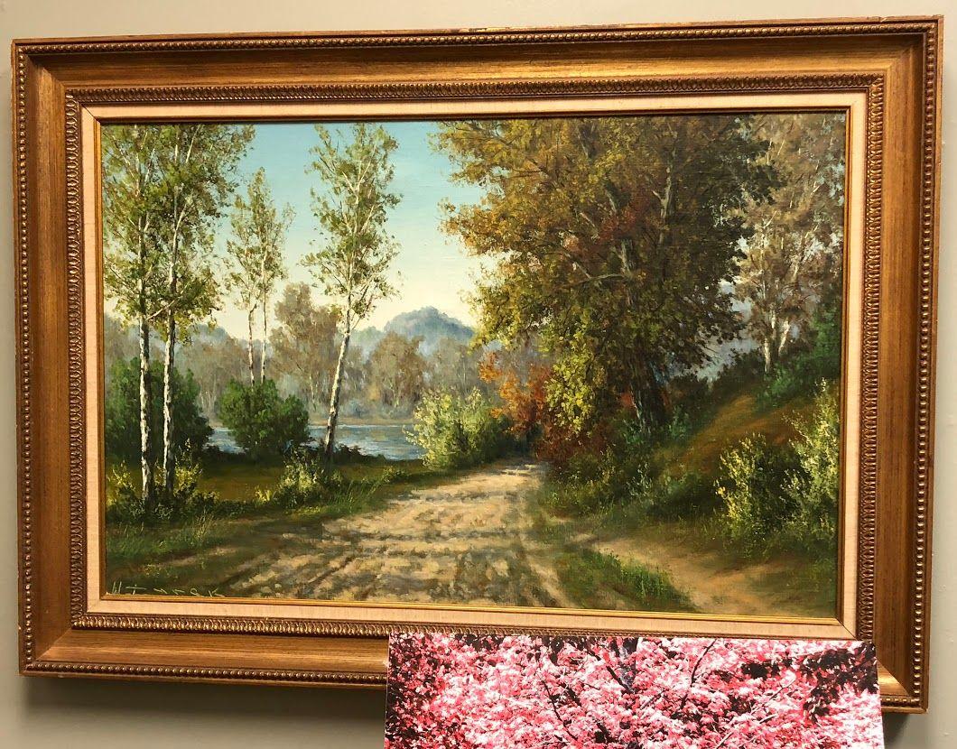 Mountain Road Painting Bonrics Custom Framing and Gallery Located ...