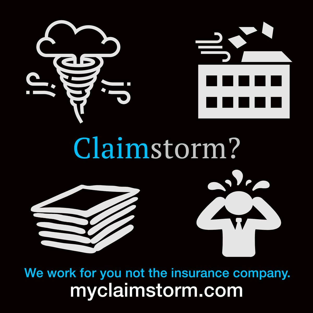 We Understand After The Storm After The Damage The Insurance