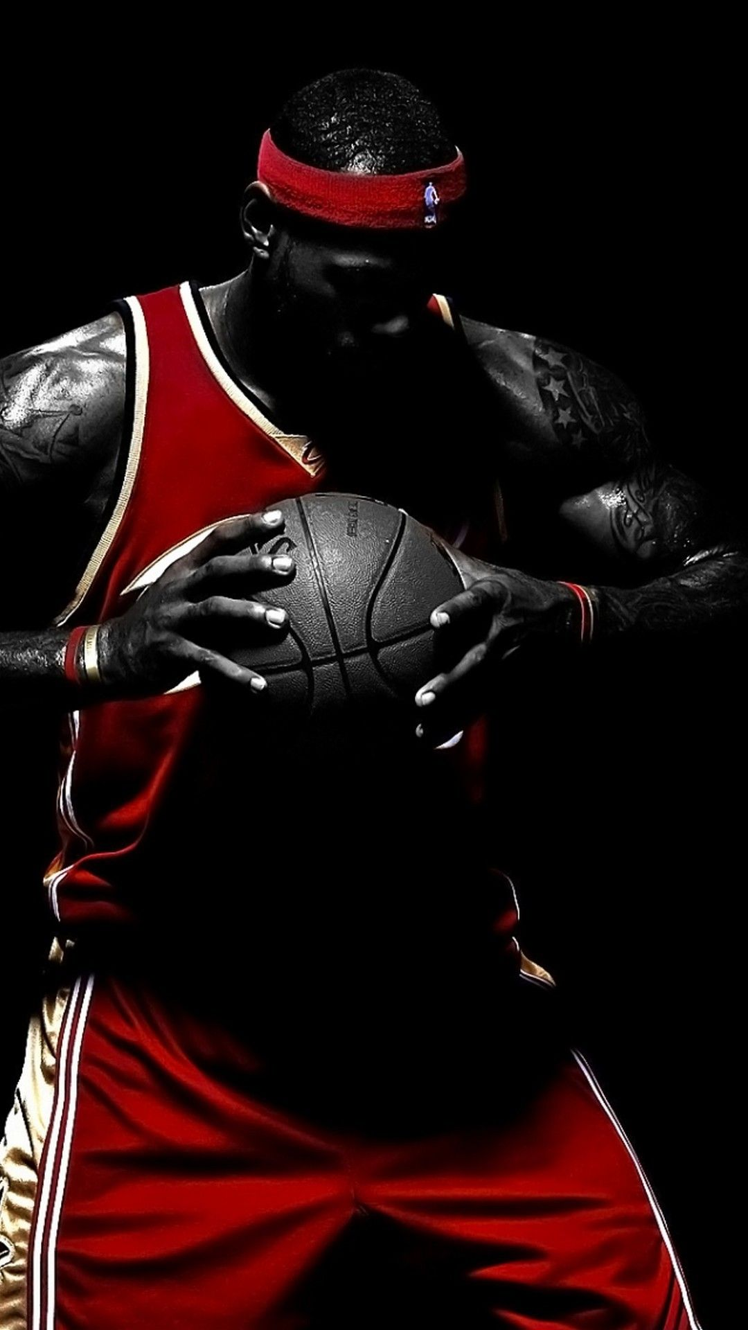 Mobile Wallpaper HD NBA Wallpaper Lebron james