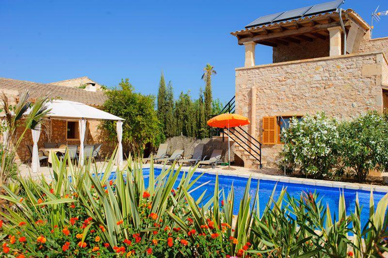 Ferienhaus Elma Bei Cas Concos Auf Mallorca Mit Pool