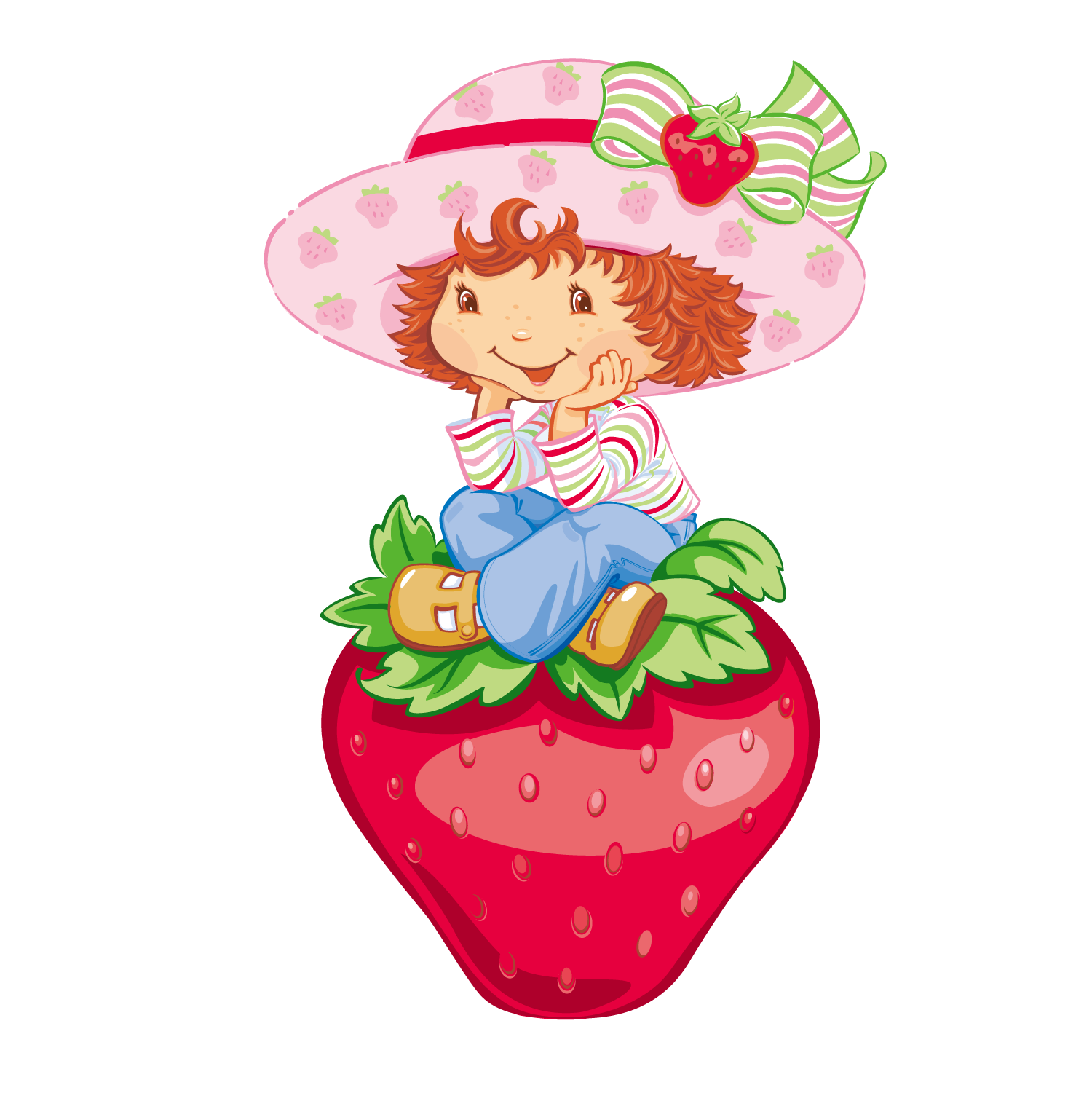 transparent library shortcake tart cheesecake strawberries clipart strawberry girl [ 1500 x 1501 Pixel ]