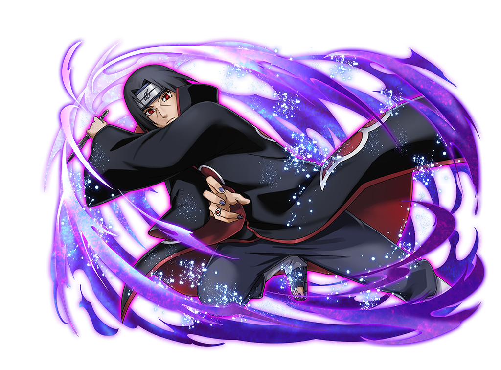 Itachi Akatsuki render 2 [Ultimate Ninja Blazing] by https