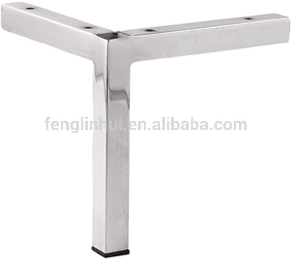 Square Tube Stainless Steel Furniture Legs A430
