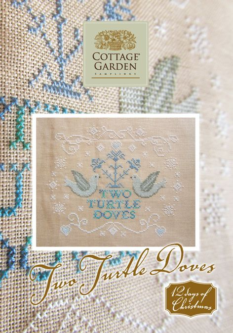 Two Turtle Doves by Cottage Garden Samplings