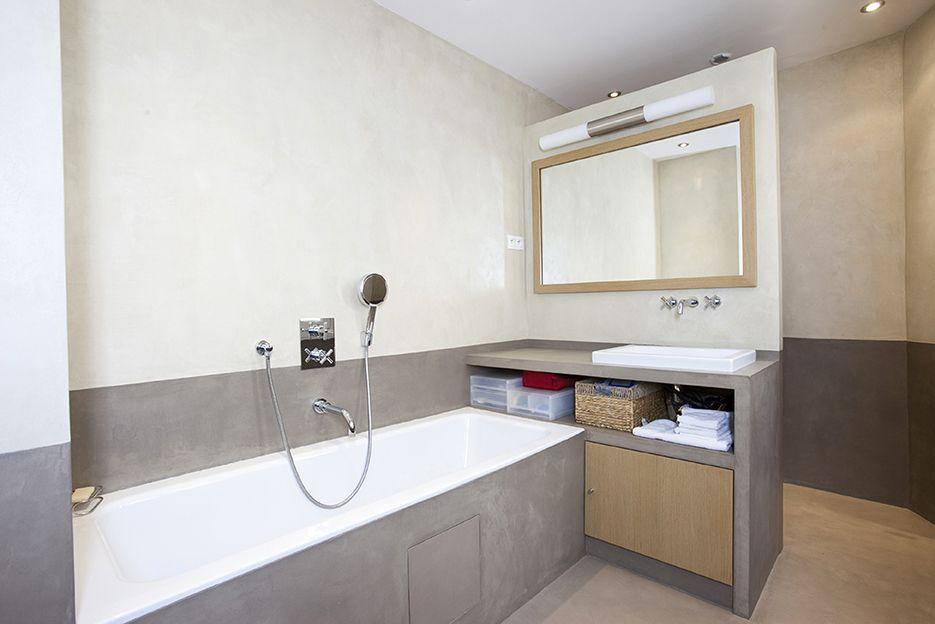 Mercadier-Enduit-Beton-Colore-EBC-Salle-de-bains-Douche-Couleurs - enduit salle de bain