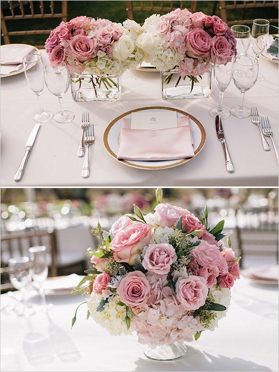 hawaiian pink and gold wedding blumendeko hochzeit. Black Bedroom Furniture Sets. Home Design Ideas