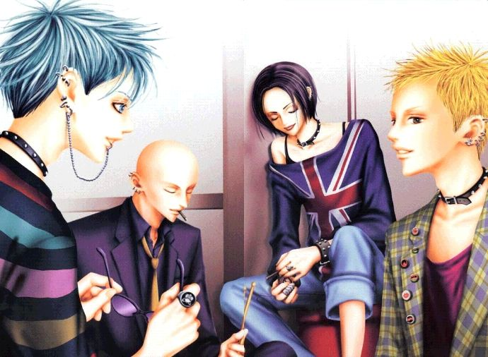 Populaire Shin, Yasu, Nana and Nobu (Nana) | Nana | Pinterest | Anime and Manga LR61