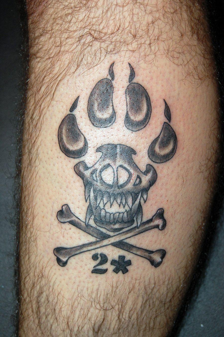 K9 Unit Emblem Tattoo By Tstctc On Deviantart 900x1354 Jpeg Tattoos K9 Unit Skull Tattoo
