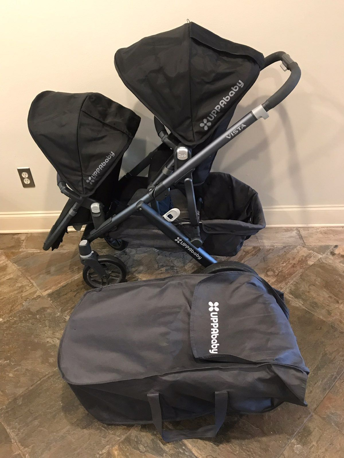 Uppa baby vista 2016 Includes Bassinet and Toddler Seat ...