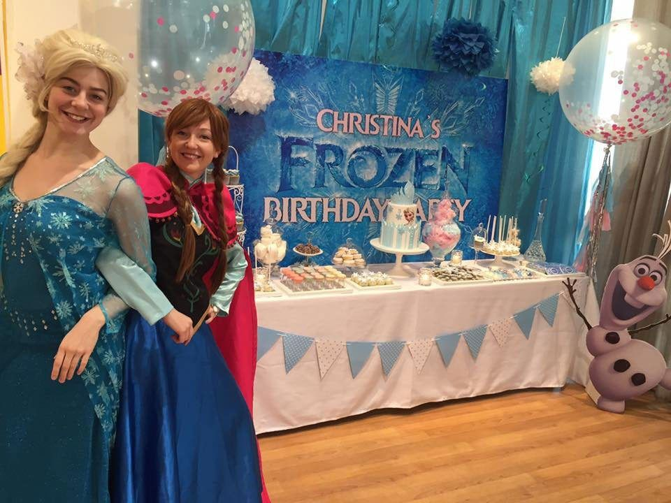 Save the hassle and have your child's Frozen birthday