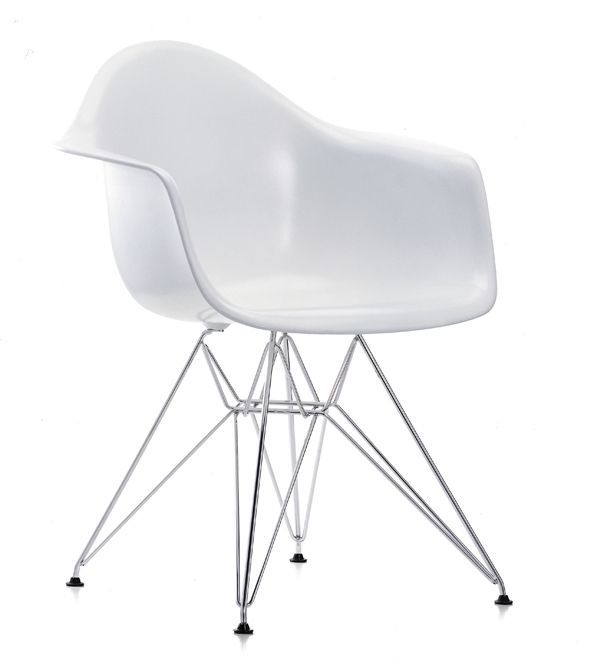 Mondo Plastik Stuhl Retro Chair Loft Industrial Design Abs Schale Weiss Chrom Stuhl Design Eames Vitra Eames Chair