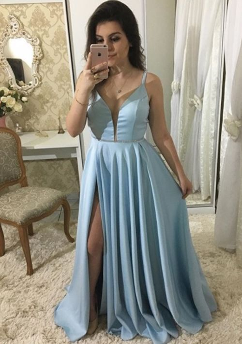 Vestidos para madrinha noite:azul Madrinhas de Casamento