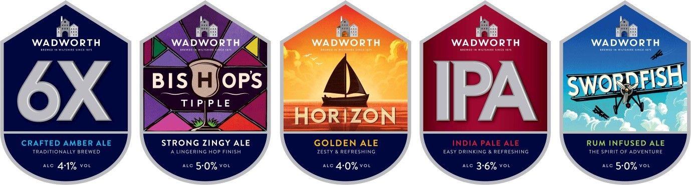 News from Wadworth Beer packaging, India pale ale, Pale ale