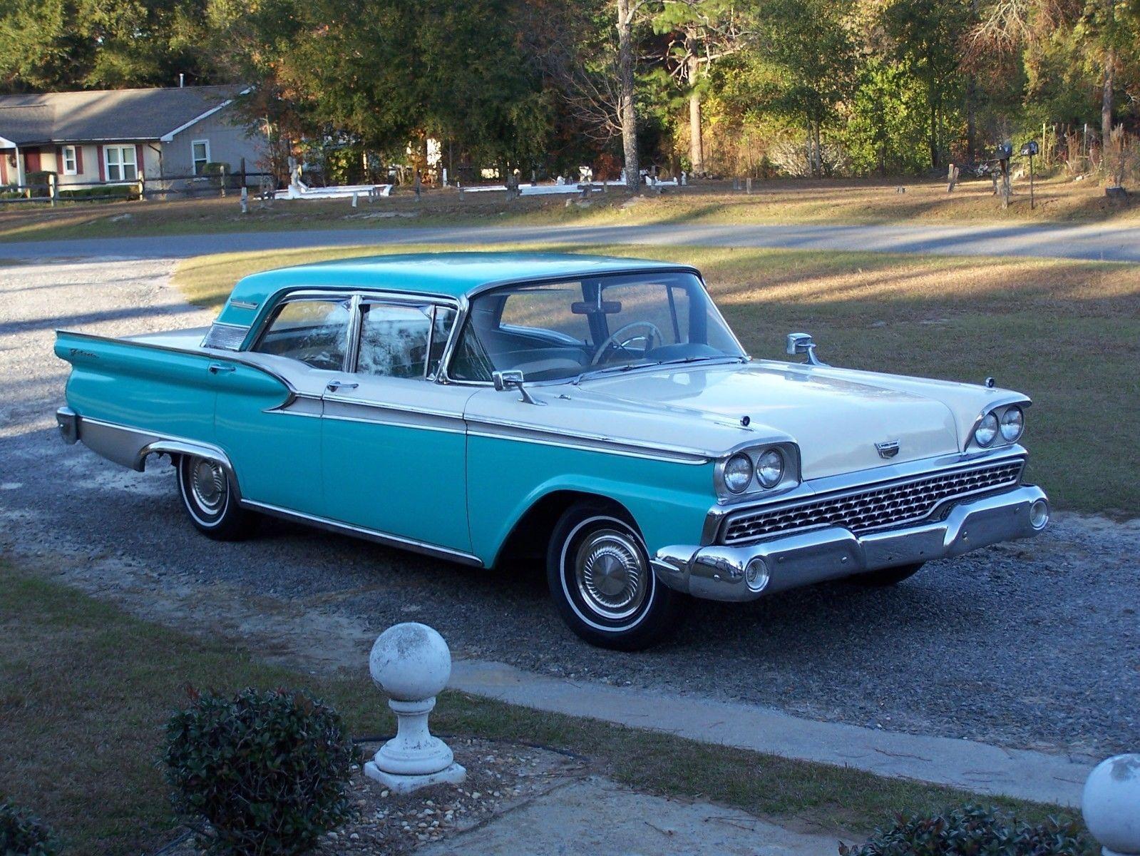 eBay: 1959 Ford Galaxie 1959 Ford Galaxie 500 352 V8 Engine