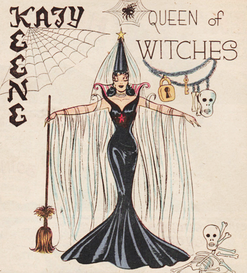gravesandghouls: Katy Keene #29 (1956)