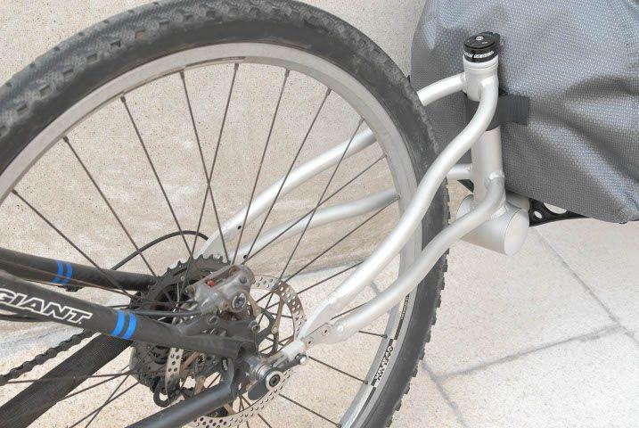 Free Parable T2 Trailer Bagageiro Bicicleta Reboques Bicicleta